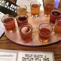 Photo taken at Sea Dog Brewing Company by Casey C. on 8/13/2012
