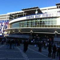Photo taken at Amalie Arena by Jackie M. on 3/26/2013