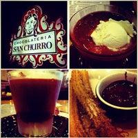 Photo taken at Chocolateria San Churro by Mohit H. on 4/5/2013