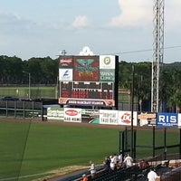 Photo taken at Publix Field at Joker Marchant Stadium by Jeff C. on 6/13/2013