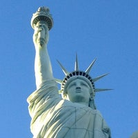 Photo taken at Statue of Liberty by Alex L. on 1/22/2013