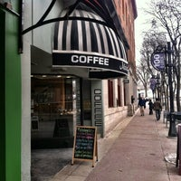 Photo taken at Michelangelo's Coffee House by Christoph T. on 2/26/2013