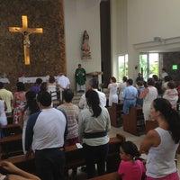Photo taken at Iglesia San Judas Tadeo by Juan Carlos M. on 9/8/2013