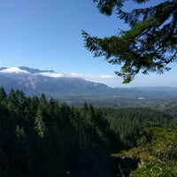 Photo taken at Wallace Falls Trail by Maricel G. on 4/9/2016