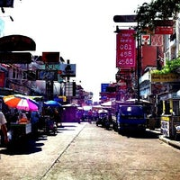 Photo taken at Khao San Road by dita k. on 5/3/2013