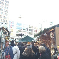 Photo taken at Union Square Holiday Market by Ana E. on 12/20/2015