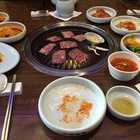 Photo taken at Hyang-to-gol Korean Restaurant by Christopher L. on 11/20/2014