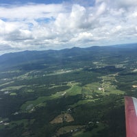 Photo taken at Morrisville-Stowe State Airport (MVL) by Larry T. on 8/7/2016