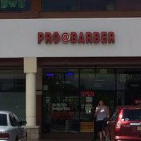 Photo taken at Pro@Barber by brendan h. on 8/24/2014