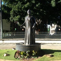 Photo taken at Queen Liliʻuokalani Statue by Beverly D. on 1/18/2013
