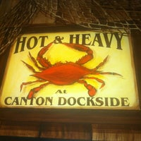 Photo taken at Canton Dockside by Jaye M. on 1/12/2013