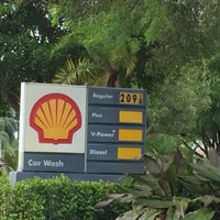 Photo taken at Shell by Ian T. on 12/8/2015