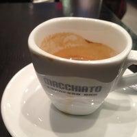 Photo taken at Macchiato Espresso Bar by Daryl M. on 12/18/2012