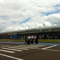 Photo taken at Aeroporto de Bauru - Arealva / Moussa Nakhl Tobias (JTC) by Norma D. on 10/17/2012