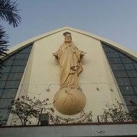 Photo taken at San Ildefonso Parish by Cee on 3/28/2013