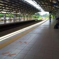 Photo taken at KTM Line - Kepong Sentral Station (KA07) by Jonathan Ng on 12/6/2012