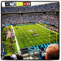 Photo taken at Bank of America Stadium by Lindsay L. on 10/8/2012