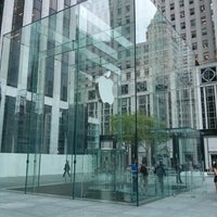 Photo taken at Apple Store, Fifth Avenue by Ricardo M. on 5/17/2013