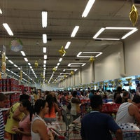 Photo taken at Supermercados Guanabara by Cássio A. on 12/31/2012