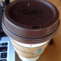 Photo taken at Caribou Coffee by Kitty H. on 6/4/2014