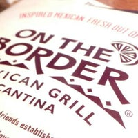 Photo taken at On The Border Mexican Grill & Cantina by MyMy U. on 8/26/2014