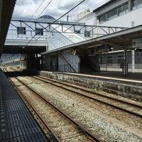 Photo taken at しなの鉄道 上田駅 by Kurayoshi I. on 7/16/2016