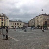 Photo taken at Plac Bohaterów Getta by Kasia W. on 6/30/2013