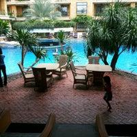 Photo taken at Mantra Pura Resort And Spa Pattaya by iamBoy O. on 5/12/2013