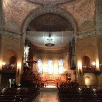 Photo taken at St. Paul's Chapel - Columbia University by Nicholas H. on 2/16/2013