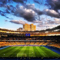 Photo taken at Olimpiyskiy Stadium by Oleksii B. on 6/30/2013