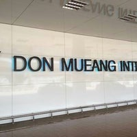 Photo taken at Don Mueang International Airport (DMK) by Julie on 7/17/2013