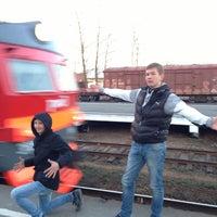 Photo taken at Ж/Д станция Мельничный Ручей by Виталик У. on 5/1/2013