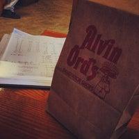 Photo taken at Alvin Ord's Sandwich Shop by Ryan A. on 3/10/2014