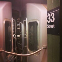 Photo taken at 33rd St PATH Station by Matthew M. on 9/11/2013