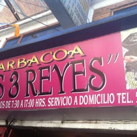 Photo taken at Los Tres Reyes - Barbacoa by Miguel P. on 12/31/2012