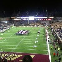 Photo taken at Alumni Stadium by Tim K. on 11/11/2012