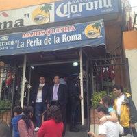 Foto tomada en La Perla de la Roma por Oscar M. el 12/12/2012