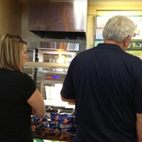 Photo taken at SUBWAY by Cathy J. on 10/10/2012