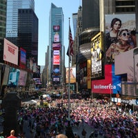 Photo taken at W New York - Times Square by Sgambetterra F. on 6/21/2013