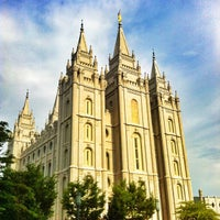 Photo taken at Temple Square by Dallan M. on 7/11/2013