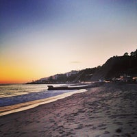 Photo taken at Pacific Palisades Beach by Andy D. on 6/27/2013