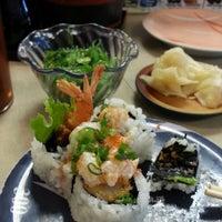 Photo taken at Marinepolis Sushi Land by Kim H. on 3/23/2013