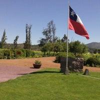 Photo taken at Viña Casas Del Bosque by Guillermo T. on 12/26/2012