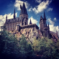 Photo taken at Harry Potter and the Forbidden Journey / Hogwarts Castle by matthew d. on 2/22/2013