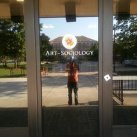 Photo taken at Art/Sociology Building - University of Maryland by Derrick P. on 6/14/2013