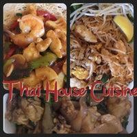 Photo taken at Thai House by Winnie R. on 10/23/2012