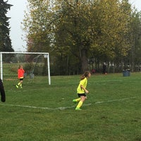 Photo taken at Marymoor Soccer Fields by @AnnieOnline on 10/8/2016