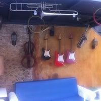 Photo taken at El Pati Blau de Can Trona by TOT XARXES on 9/8/2013