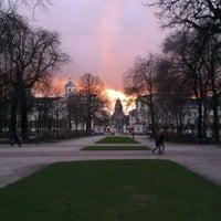 Photo taken at Warandepark / Parc de Bruxelles by Arne N. on 2/5/2013