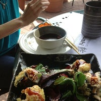 Photo taken at Newport Fusion Sushi by Scott G. on 3/19/2013